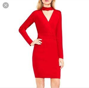 Vince Camuto sweater choker dress